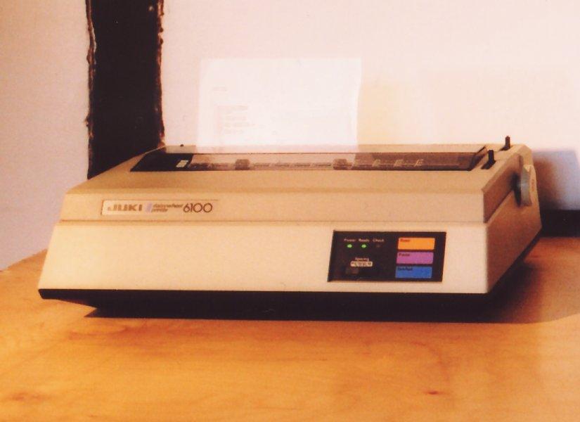 Juki 6100 Daisywheel Printer
