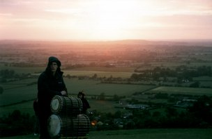 Ant from Vitae Drummers hovering over Buckinghamshire |