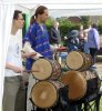 Anthony and Malc playing dun duns at Prestwood Fete |