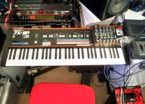 [ Roland JX-3P with red+black friends |