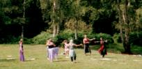 [ Bizia's dance class at Cuffley Camp |