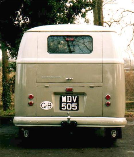 1957 VW Camper Van