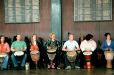 Djembe students ]