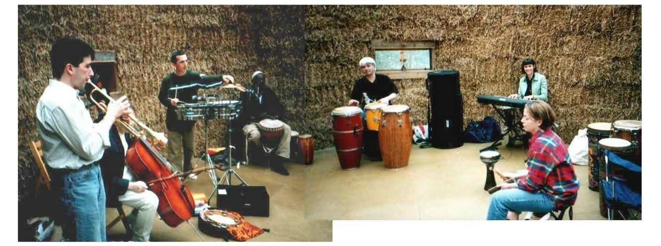 Birthday Party jam session, 2001 ]