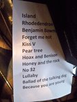 [ Set list for Mary Hampton Cotillion performance at Queen Anne's Summerhouse in June 2011 ]