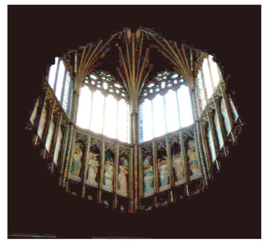 [ The Octagon at Ely Cathedral ]