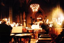 [ Celestial choir (The Holst Singers) in Temple Church |