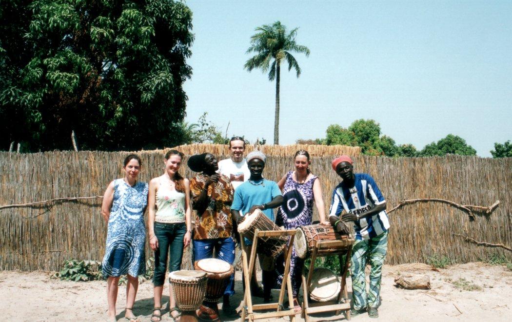 [ Malo's drumclass in Senegal ]